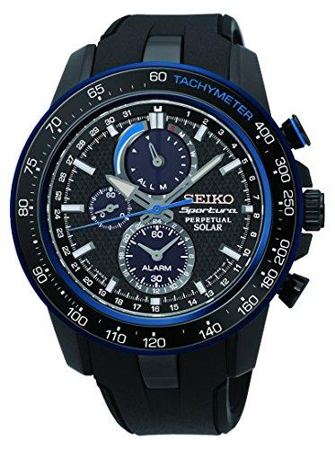 (Seiko Sportura SSC429P1 Men's watch Alarm)