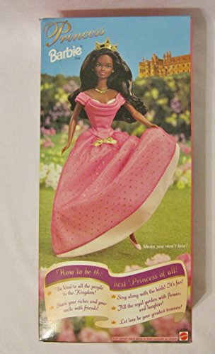 Mattel Barbie Princess African American Doll