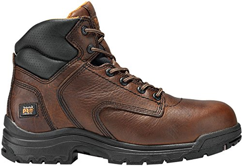 "Timberland PRO Titan 50508 Mens 6"" Composite Toe Work Boot Brown"