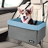 Dog Booster Seats for Cars, Jespet Portable Travel Pet Car Seat Carrier