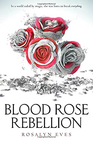 book cover of Blood Rose Rebellion