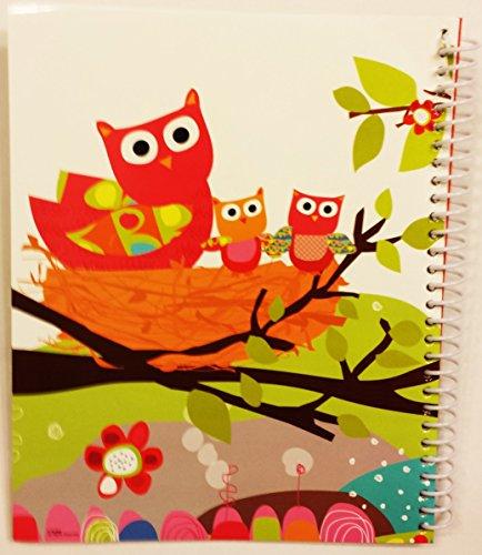 Owl Spiral Bound Monthly Bill Organizer (Owl Theme) Photo #2