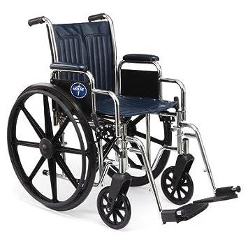 Amazon.com: Medline Excel estrecho silla de ruedas Excel ...
