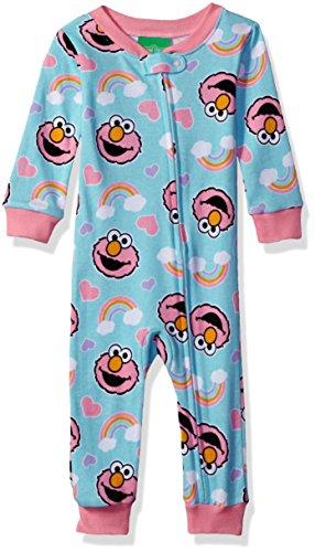 Sesame Street Girls Cotton Onesie