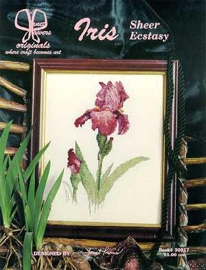 Iris Cross Stitch Pattern - 4