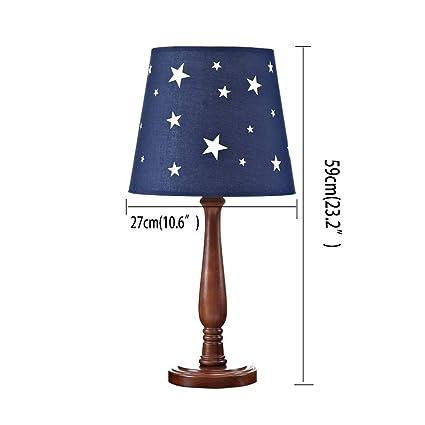ChuanHan Ceiling Fan Light Chandelier Lightings Table Lamp Retro Children Table Bedroom Bedside Boy Room Decoration