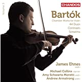 Bartok: Violin Works Vol. 3 [James Ehnes, Andrew Armstrong] [Chandos: CHAN 10820]