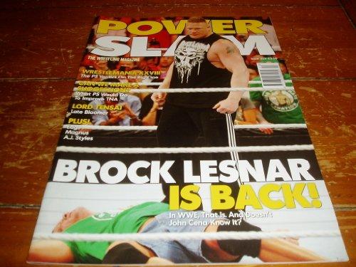 Power Slam Magazine # 213 May 2012 Issue