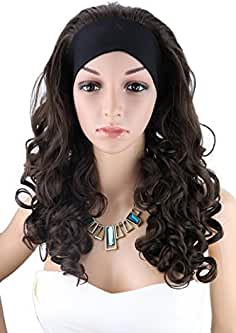wigs with headbands