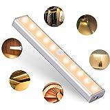 OUSFOT 人感センサー ライト LEDベースライト USB充電式 フットライト 磁気式 貼り付け式 簡単な取り付け 省エネ 高輝度 感電防止 寝室 ベビールーム 押し入れ 戸棚 廊下 職場 地下室 車庫 階段井戸 石油庫