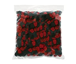 Jelly Belly Raspberries and Blackberries (2.5 Lb Bag)