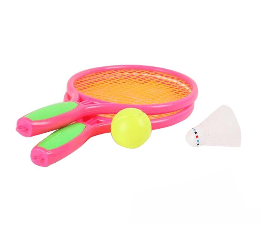Raquette de tennis Jeux pour enfants Badminton Racket Fitness Toys-Red Black Temptation