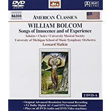 William Bolcom: Songs of Innocence and of Experience [DVD Audio]