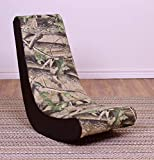 THE CREW FURNITURE Classic Video Rocker Gaming Chair, Camo