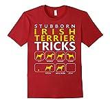 Men's Irish Terrier T-shirt 3XL Cranberry