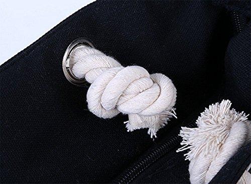avec mode Beige Sac Ruikey serviette tout le pour fermeture sac plage de toile en cosmétique Colorblock la vêtements fourre à glissière stockage à n7B8q
