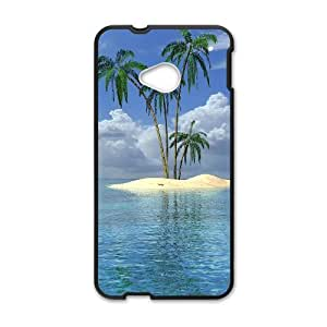 Generic Case Tropical Paradise Beach And Palm Tree For HTC One M7 W3Q8917628