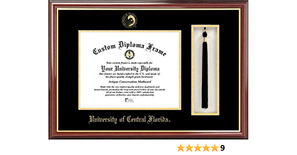 Campus Images University Of Central Florida Tassel Box And Diploma Frame Sports Fan Diploma Frames Sports Outdoors