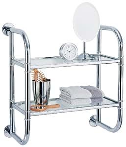 Organize It All 2 Tier Bath Shelf