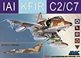 AMK86002 1:72 AMK IAI Kfir C2/C7 [MODEL BUILDING KIT]