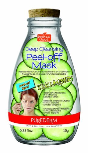 "Purederm On-the-Go Deep Cleansing Peel Off Face Mask ""Cucumb"