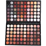 Anself - 120 Colores Sombra de Ojos, Paleta de Maquillaje Cosmética Ultra Brilla con Color Cálido y Frío