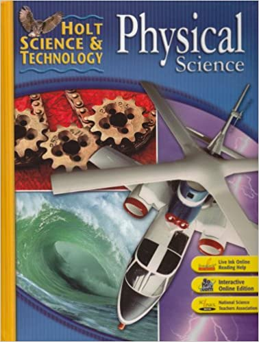 holt science and technology science book