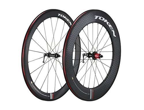 Token Products C590 Full Carbon Clincher Combo 50mm and 90mm Road Wheelset (Shimano/SRAM Cassette), Wheel Size : 700cm by Token (Image #1)'