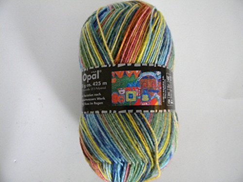 (1 Skein Opal Sock Yarn Hundertwassers #3200 .supply.from:whatnicestuff)