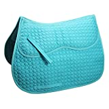 Derby Extra Comfort English Saddle Pad with Removable Memory Foam