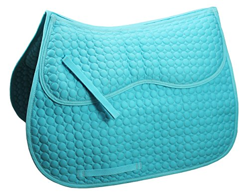 Derby Originals Extra Comfort All Purpose English Saddle Pad with Removable Memory - English Pad