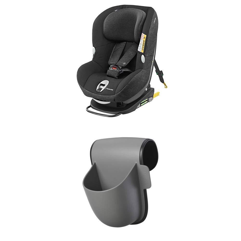 0-18 kg 4 Jahre Reboarder mit Isofix nutzbar ab der Geburt bis ca Maxi-Cosi MiloFix Kindersitz concrete grey Gruppe 0+ //1 Autositz
