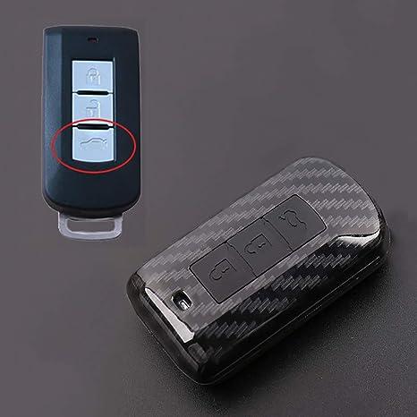 Amazon.com: ontto - Funda para llave de coche con textura de ...