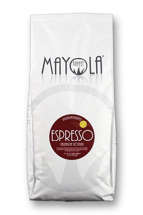 Especialidad – Mayola Espresso conjunto de asado italiana tostado Granos de café para máquina de café