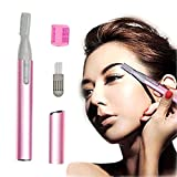 Durable High Quality Pink Electric Lady Shaver / Eyebrow Shaper / Trimmer / Hair Remover Removal