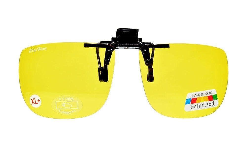 ClipFlipz - Gafas de sol rectangulares polarizadas, extra ...