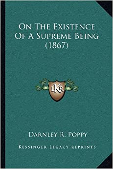 Book On the Existence of a Supreme Being (1867)