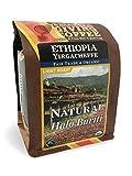 Thanksgiving Coffee ''Ethiopia Natural Yirgacheffe Halo Bariti'' Light Roasted Fair Trade Organic Shade Grown Whole Bean Coffee - 12 Ounce Bag