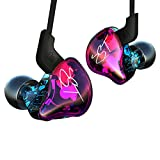 KZ ZST Dynamic Hybrid Dual Driver In Ear Earphones without Mic (Colorful)