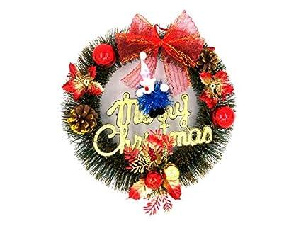 amazon com yuchoi christmas old man christmas garland door hanging