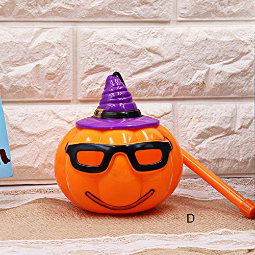 MOKO-PP Halloween Pumpkin Light Lamp Voice-activated Flashing Decor