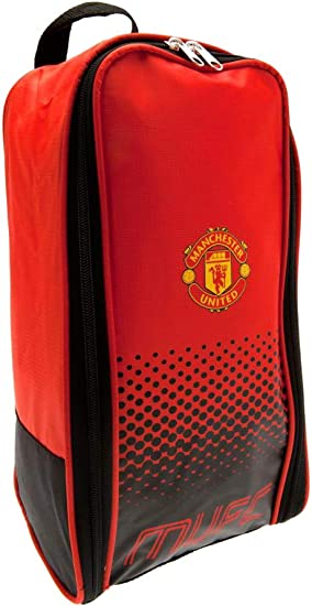 Manchester United Boot Bag Fade Design Official F.C Football