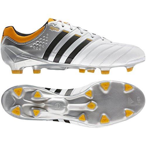 adidas Performance, Scarpe da calcio uomo Bianco/Argento, (weiß / silber), 8.0 UK - 42.0 EU (weiß / silber)
