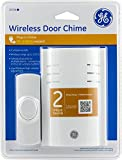 GE 19298 150 feet Range Plug-In Wireless Door Chime with Push Button