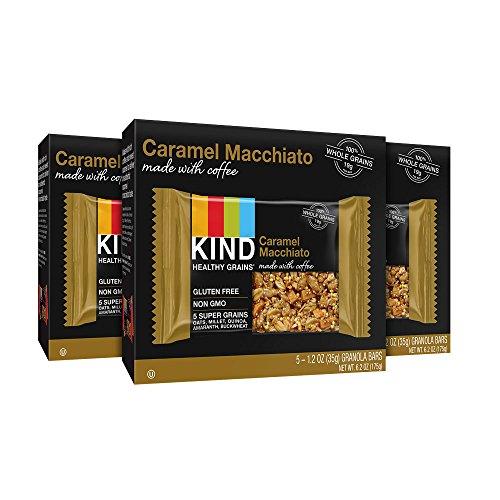 KIND Healthy Grains Granola Bars, Caramel Macchiato, Gluten