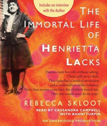 The Immortal Life of Henrietta Lacks by Skloot, Rebecca (2010) Audio CD by Random House Audio