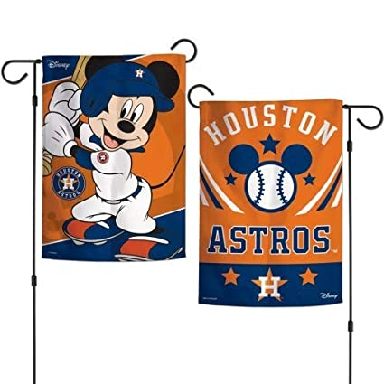 Amazon.com: CELYCASY Houston Astros Mickey Mouse - Bandera ...
