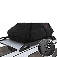 Corgy Waterproof Car Top Carrier Roof Top Cargo Rack 20 Cubic Storage Box Roof Top Bag for Travel and Luggage Transportation(US STOCK)