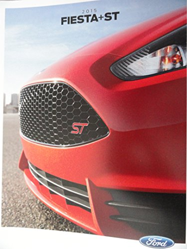2015 Ford Fiesta Sales Brochure - Red Cover