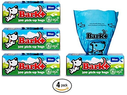 1200 Bark+ Dog Waste Bags Poop Bags, 4 Pack